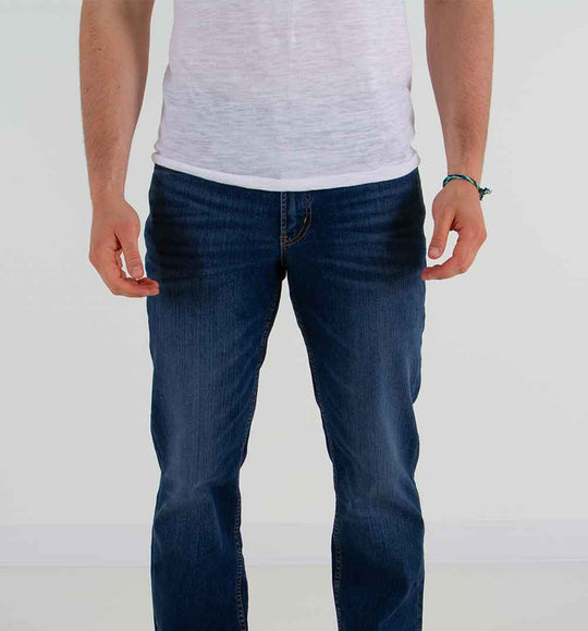 Silver Jeans The Relaxed Straight Leg Jeans for Men in Medium Wash
