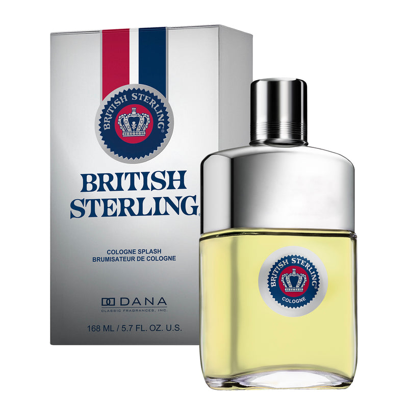 BRITISH STERLING COLOGNE SPLASH 5.7 FL OZ / 168 ML