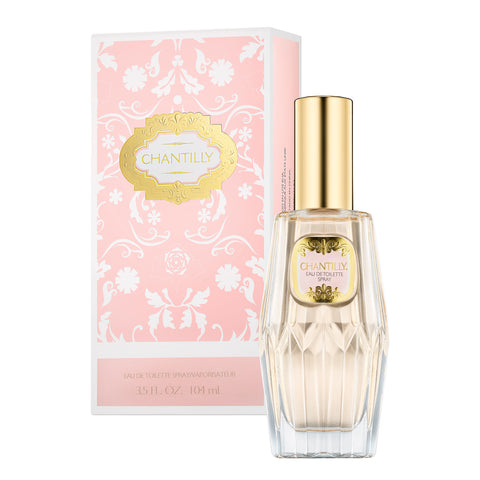 CHANTILLY EAU DE TOILETTE SPRAY <br> 3.5 FL OZ / 104 ML