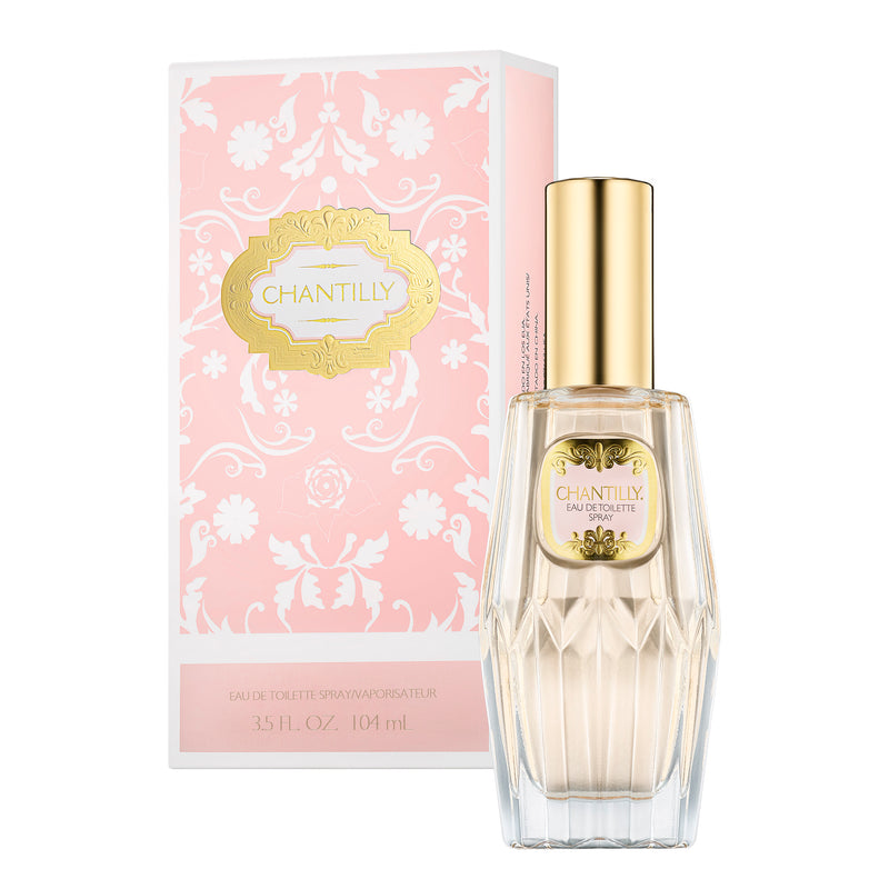 CHANTILLY EAU DE TOILETTE SPRAY 3.5 FL OZ / 104 ML