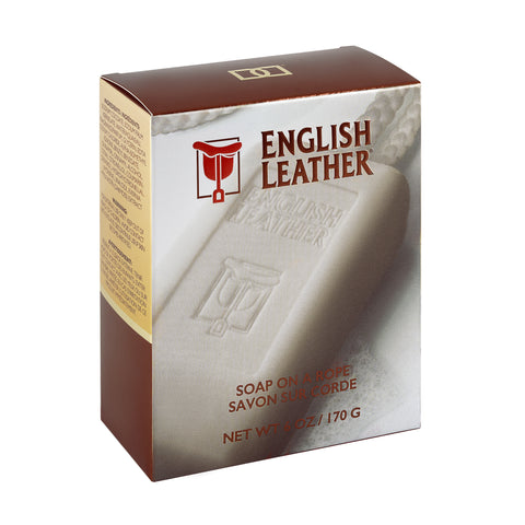 ENGLISH LEATHER SOAP ON A ROPE  6 OZ / 170 G