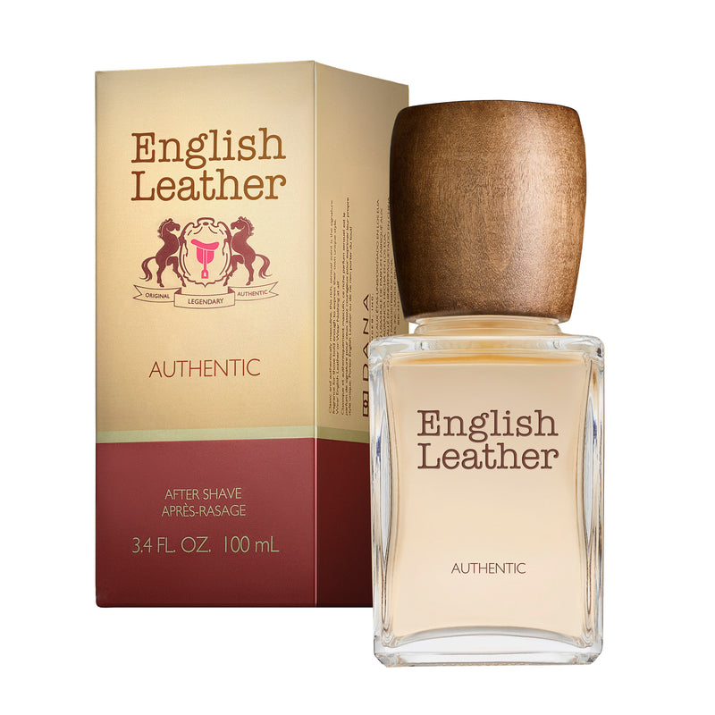 ENGLISH LEATHER AFTER SHAVE SPLASH 3.4 FL OZ / 100 ML