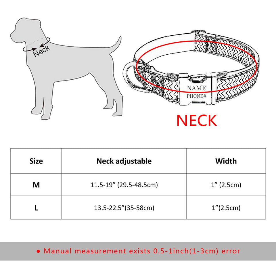 Engraved ID collar