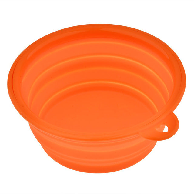 Folding portable silicone bowl - The Wiggle Project