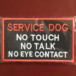 Service dog patch - The Wiggle Project