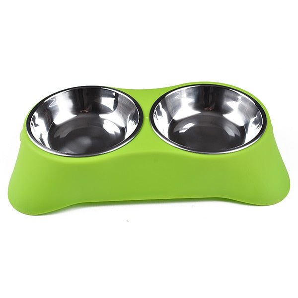 Cute bowl with two compartments - The Wiggle Project