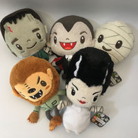 Halloween themed plush toys