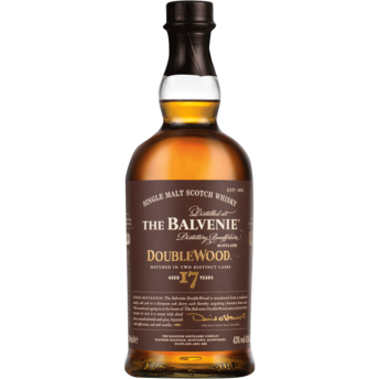 The Balvenie Doublewood Aged 17 Years Single Malt Whisky (70cl) - liquormalaysia
