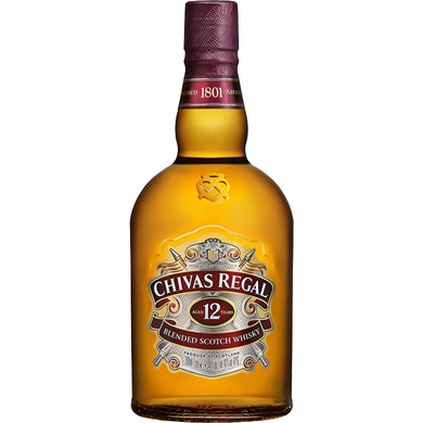Chivas Regal 12 Years Blended Scotch Whisky (70cl) - liquormalaysia