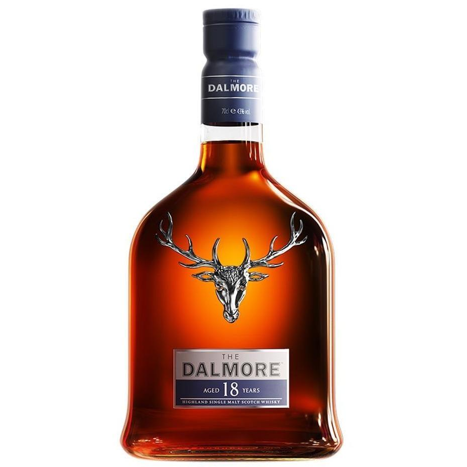 The Dalmore Aged 18 Years Single Malt Whisky (70cl) - liquormalaysia
