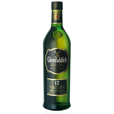 Glenfiddich 12 Years Old Single Malt Whisky (70cl) - liquormalaysia