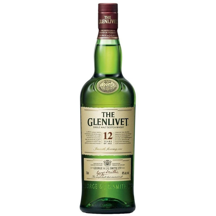 The Glenlivet 12 Years Single Malt (75cl) - liquormalaysia