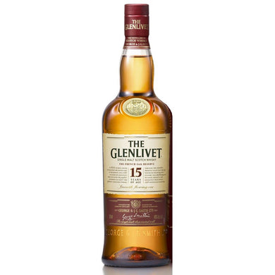 The Glenlivet 15 Years Single Malt (70cl) - liquormalaysia
