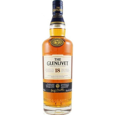 The Glenlivet 18 Years Single Malt (70cl) - liquormalaysia