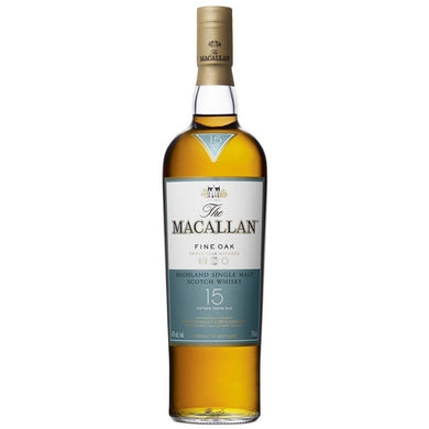 The Macallan Fine Oak 15 Years Single Malt Whisky (70cl) - liquormalaysia