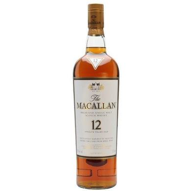 The Macallan Sherry Oak 12 Years Single Malt Whisky (70cl) - liquormalaysia