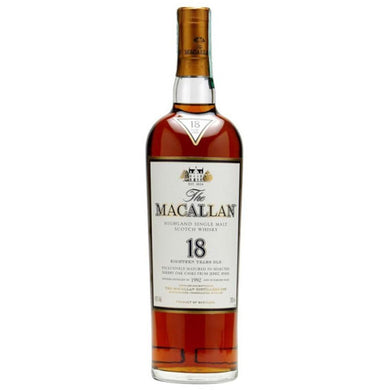 The Macallan Sherry Oak 18 Years Single Malt Whisky (70cl) - liquormalaysia