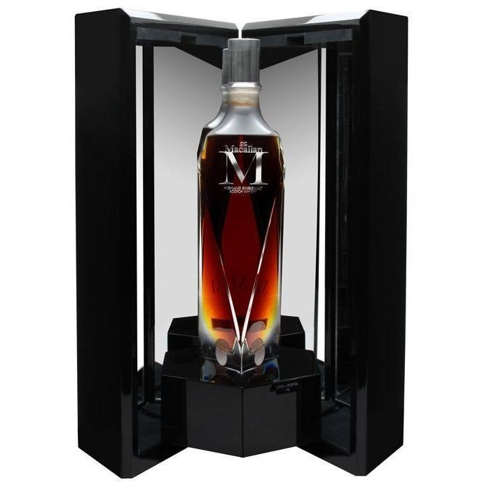 The Macallan M Decanter 1824 Series Single Malt Whisky (70cl) - liquormalaysia