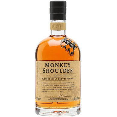 Monkey Shoulder Blended Scotch Whisky (70cl) - liquormalaysia