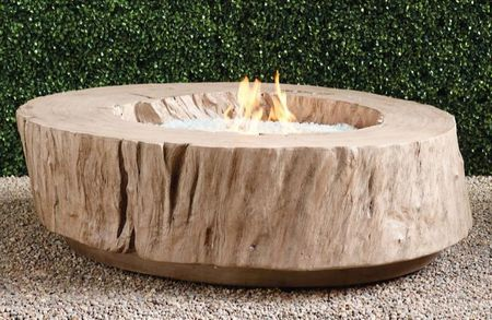 bryndle round propane fire pit