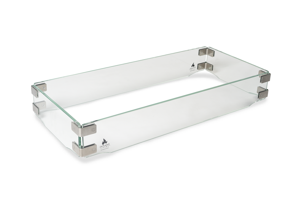 Glass Wind Guard for Fire Table 401/403, Outland Living ... on Outland Living 401 id=24187