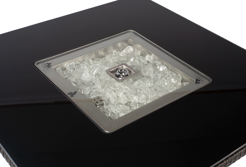 outland living fire table glass lid 410