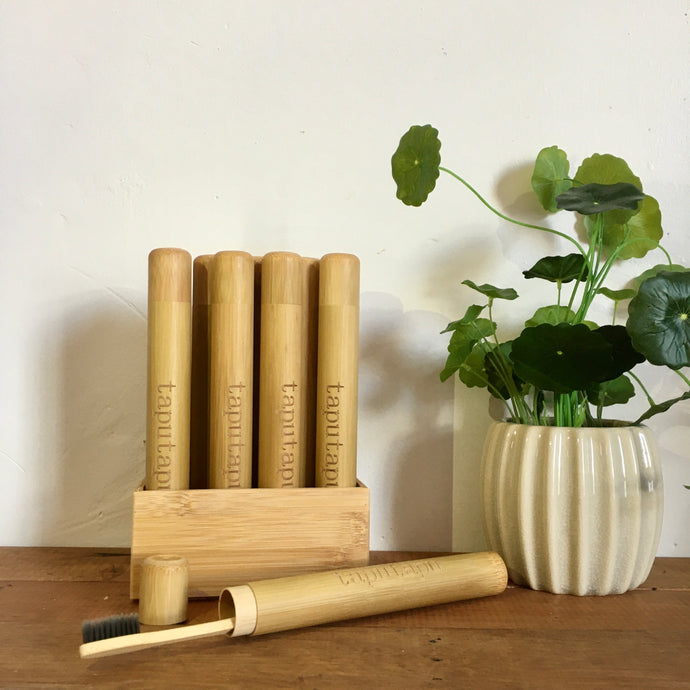 Bamboo Travel Case