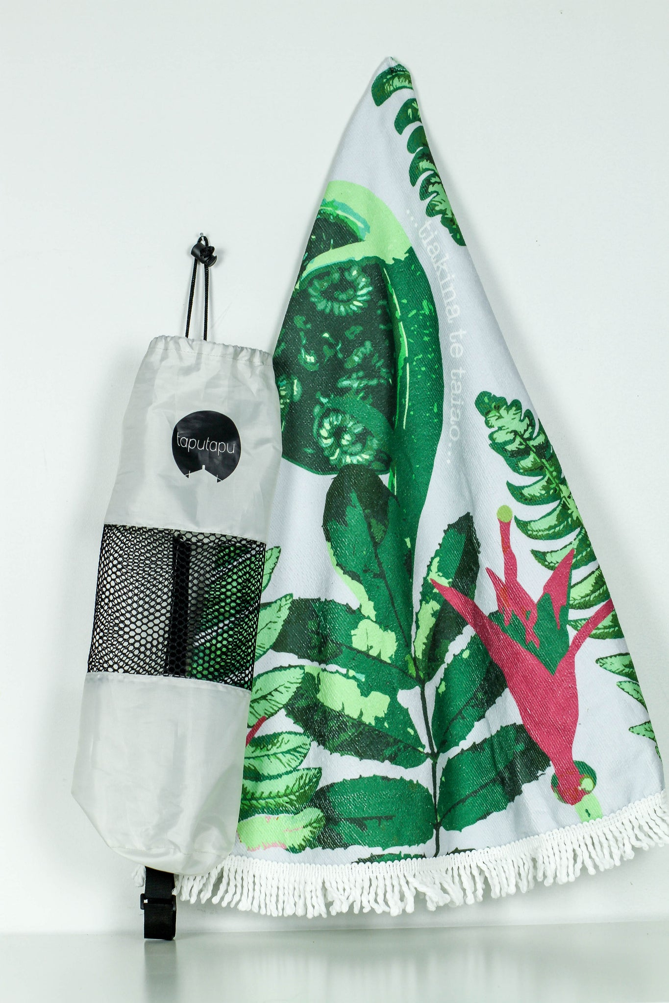 Round Beach Towel and bag