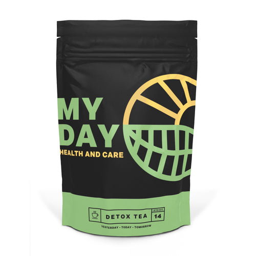 MY DAY | 14 Day Detox Tea- Weight loss cleanse tea for bloating relief