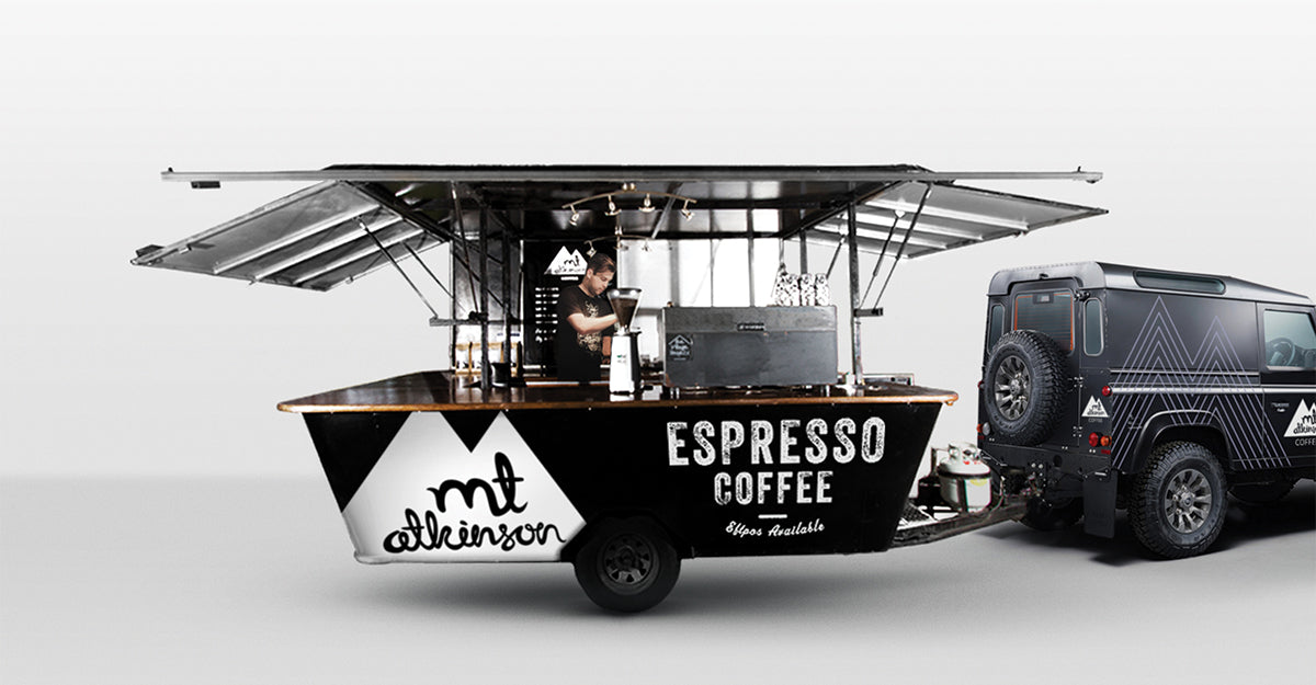 Mt Atkinson Coffee Cart