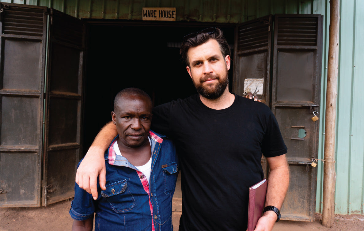 Jacob and Paul from Kenya