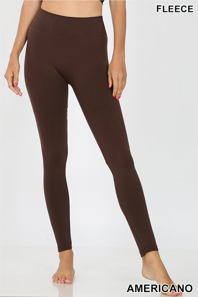 Americano Fleece Seamless Leggings