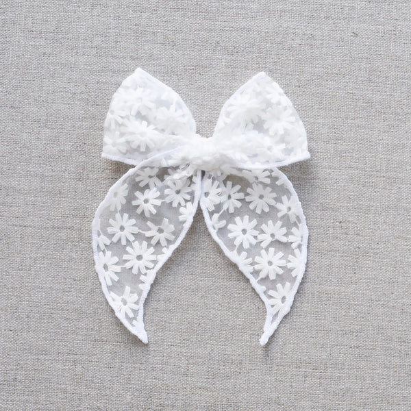 Fable Bow // Snowy Floral