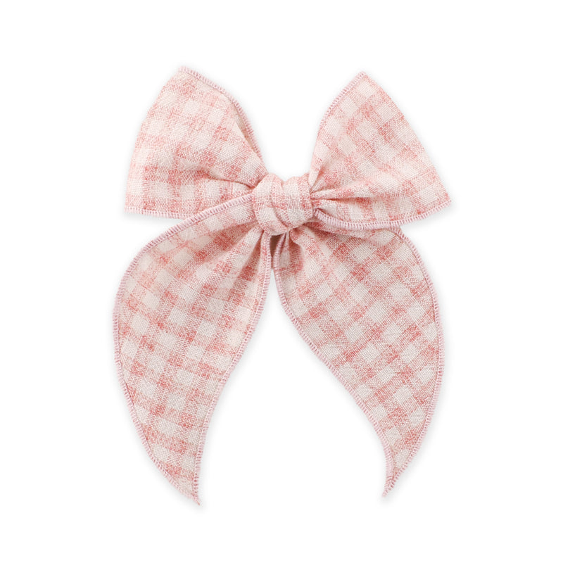Fable Bow // Vintage Pink Gingham