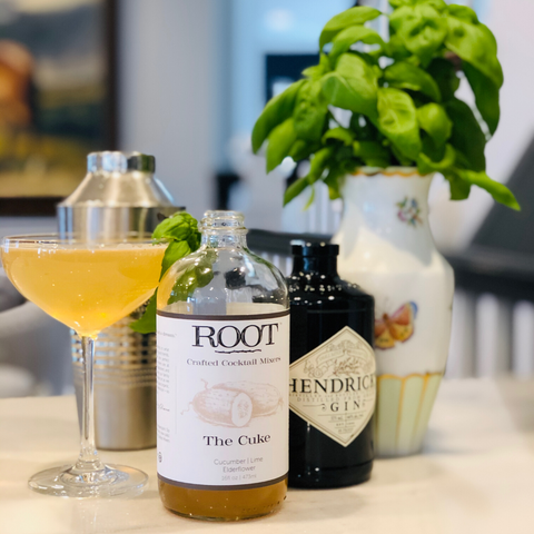 The Cuke- ROOT Crafted Cocktail Mixers