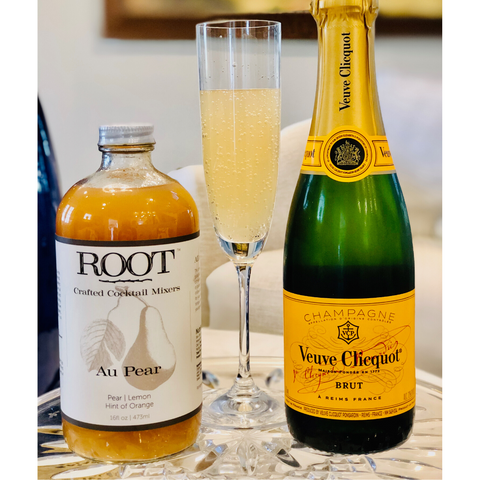 Au Pear- ROOT Crafted Cocktail Mixers