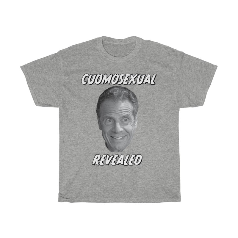 'Cuomosexual Revealed' Funny T-Shirt