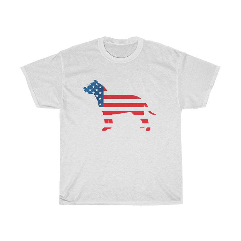 Patriotic Dog Lover T-shirt (multiple colors)