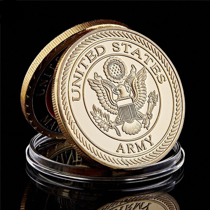 United States Screaming Eagles Army 101st Airborne Coin