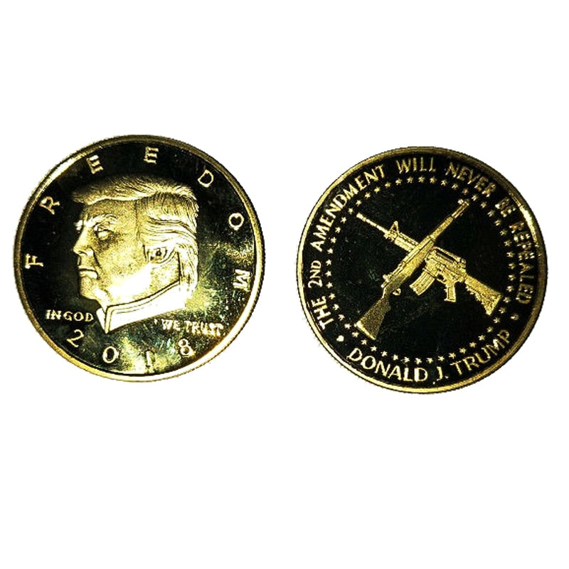 President Donald Trump 2nd Amendment FREEDOM Coin