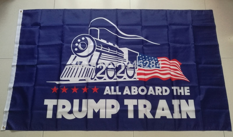 Trump Train Flag