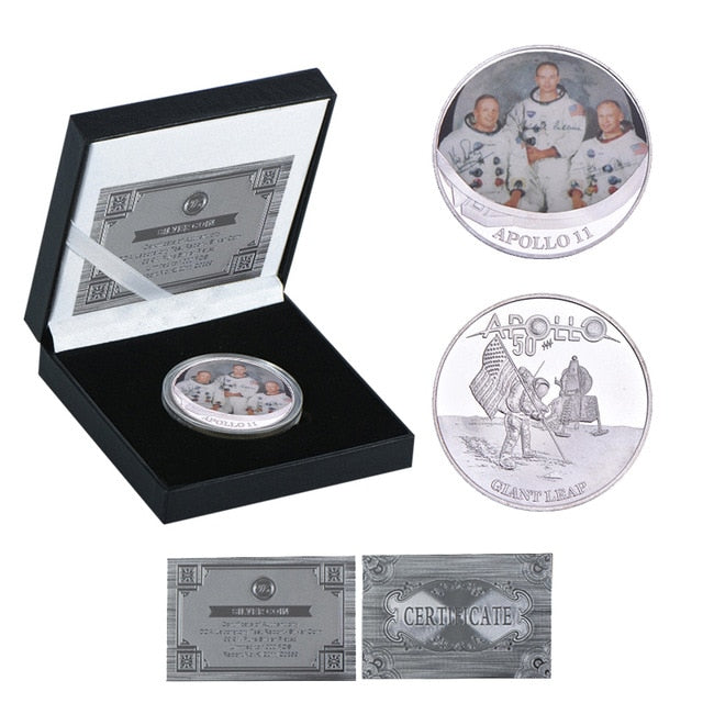 WR Apollo 11 50th Anniversary Silver Collectibles Coins