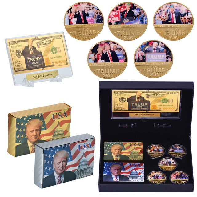 President Donald Trump Poker Set Playing Cards
