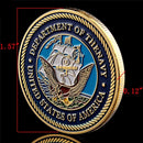 U.S. Department Of the Navy Commemorative Coin