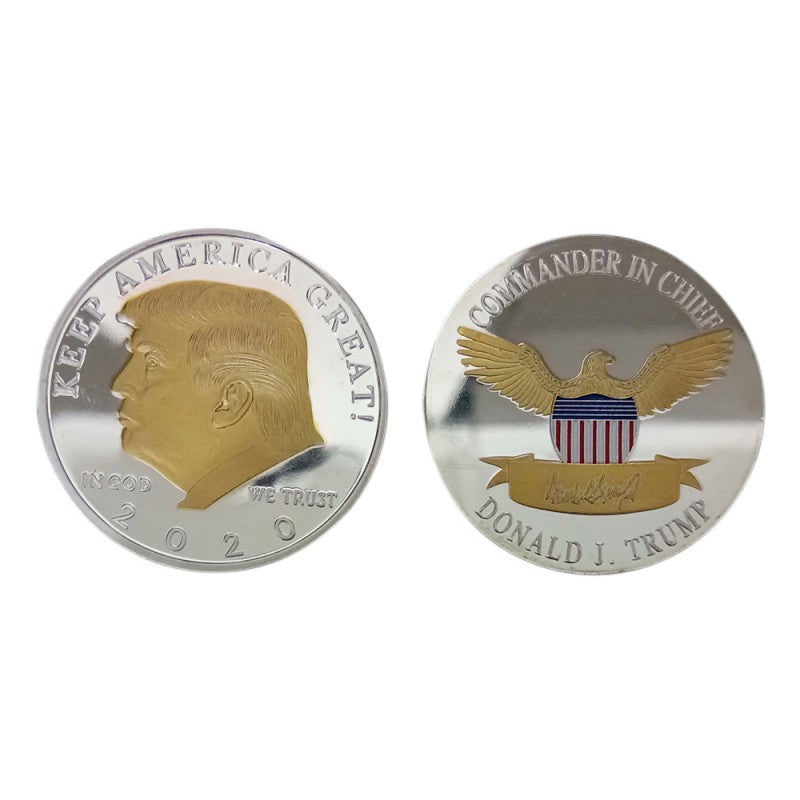 Donald Trump 2020 Keep America Great Commemorative Coin