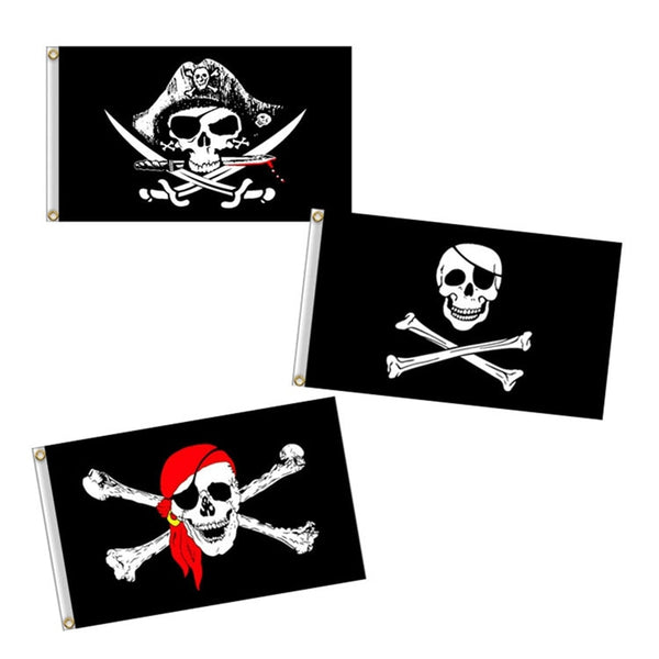 Pirate Flag 60x90cm Jolly Roger Skull Flag