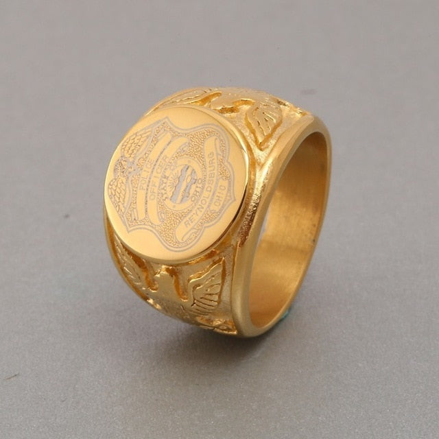 United States Marine Corps Army Ring