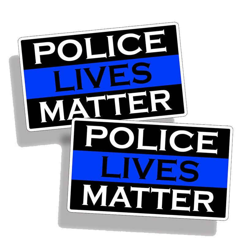 Police Lives Matter  PVC Decal