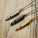 Bullet Necklace Pendant