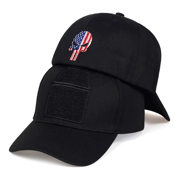 """USA PUNISHER"" Tactical Baseball Cap"
